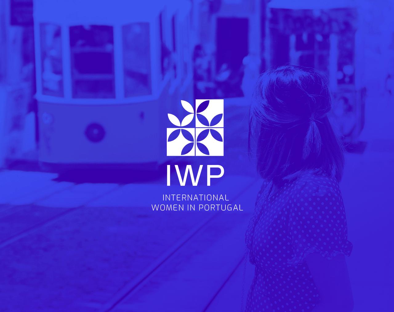 IWP logo on blue background