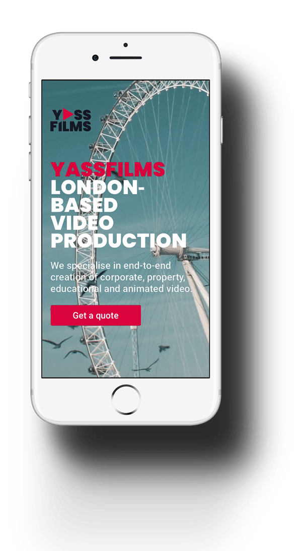 YassFilms mobile screen